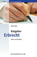 Heiko Ritter: Ratgeber Erbrecht ★★★★