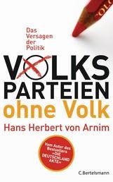 Volksparteien ohne Volk - Das Versagen der Politik