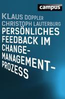 Klaus Doppler: Persönliches Feedback im Change-Management-Prozess