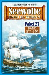 Seewölfe Paket 27 - Seewölfe - Piraten der Weltmeere, Band 521 bis 540