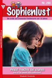 Sophienlust 290 – Familienroman - Angst machte sie stumm