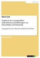 Mikael Eydt: Vergleich der vorausgefüllten Einkommensteuererklärungen von Deutschland und Dänemark