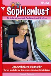 Sophienlust 205 – Familienroman - Ungewöhnliche Heimkehr
