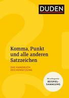 Anja Steinhauer: Komma, Punkt und alle anderen Satzzeichen