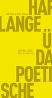 Hartmut Lange: Über das Poetische