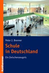 Schule in Deutschland - Ein Zwischenzeugnis