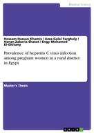 Hossam Hassan Khamis: Prevalence of hepatitis C virus infection among pregnant women in a rural district in Egypt