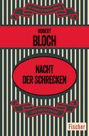 Robert Bloch: Nacht der Schrecken