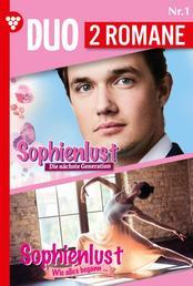 Familien-Duo 1 – Familienroman - Sophienlust - Die nächste Generation 1 + Sophienlust - Wie alles begann 1