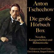 Anton Tschechow: Die große Hörbuch Box - Novellen, Kurzgeschichten und Bühnenwerke