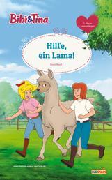 Bibi & Tina - Hilfe, ein Lama! - Erstlesebuch