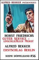 Alfred Bekker: Krimi Doppelband 56