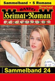 Heimat-Roman Treueband 24 - Sammelband - 5 Romane in einem Band