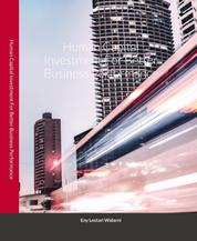 Human Capital Investment - For Better Business Performance