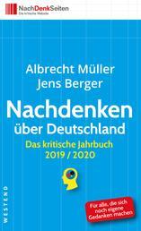 Nachdenken über Deutschland - Das kritische Jahrbuch 2019/2020