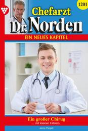 Chefarzt Dr. Norden 1201 – Arztroman - Ein großer Chirurg
