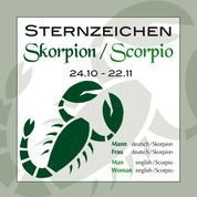 Sternzeichen Skorpion 24,10,-22,11,
