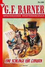 G.F. Barner 182 – Western - Eine Schlinge für Coburn