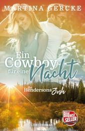 Ein Cowboy für eine Nacht: The Hendersons - Josh