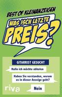 Best of Kleinanzeigen: Was isch letzte Preis? ★★★