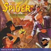 The City Destroyer - The Spider 16 (Unabridged)